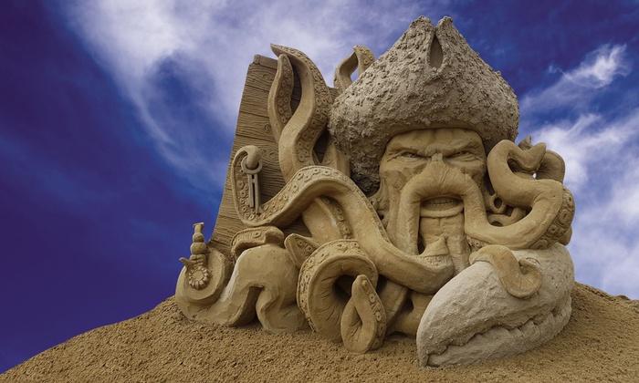 Zandsculpturen maken